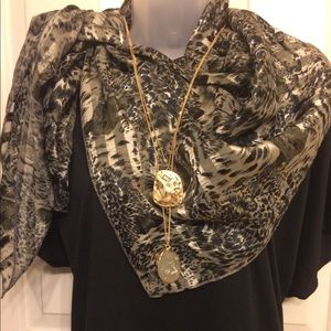 Accessories - Silky Rayon Scarf